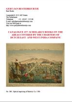 Catalogue 157 - Scholarly books on the Dutch East- & West-India Company