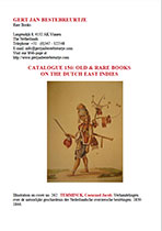 Catalogue 156 - Old & Rare Books on the Dutch East Indies