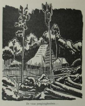 WESTENENK, L.C. - Het rijk van Bittertong. Met een biografie van den schrijver door H.T. Damsté.
