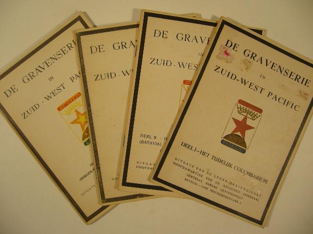 - DE GRAVENSERIE IN ZUID-WEST PACIFIC. Deel I - IV.