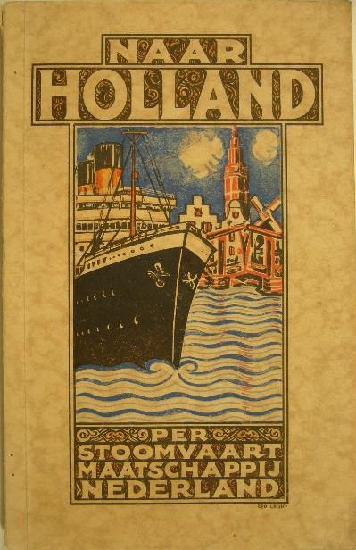 - NAAR HOLLAND. Geïllustreerd handboek voor verlofgangers en repatrieerenden.