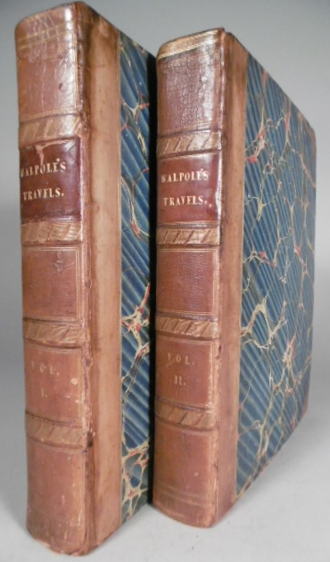 WALPOLE, ROBERT. - Memoirs relating to European and Asiatic Turkey, and other countries of the East; edited from manuscript journals. 2nd edition. - Travels in various countries of the East; being a continuation of Memoirs ...