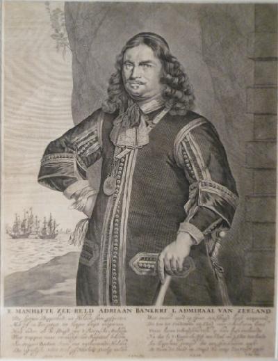 BANCKERT, ADRIAEN. - E. manhafte zee-held  Adriaan Bankert, L. Admiraal van Zeeland.