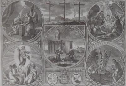 JOÃO DE JESUS CHRISTO. - Viagem de hum peregrino a Jerusalem, e visita que fez aos lugares santos, em 1817. Terceira edição.