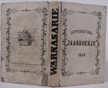 WARNARSARIE. - WARNARSARIE. 1848. Letterkundig jaarboekje. Uitgegeven door I. Munnich.