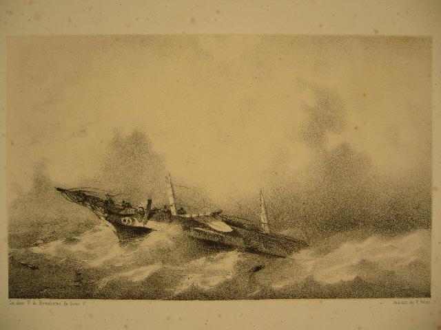 BREUHAUS DE GROOT, FRANS ARNOLD. - Shipwreck.