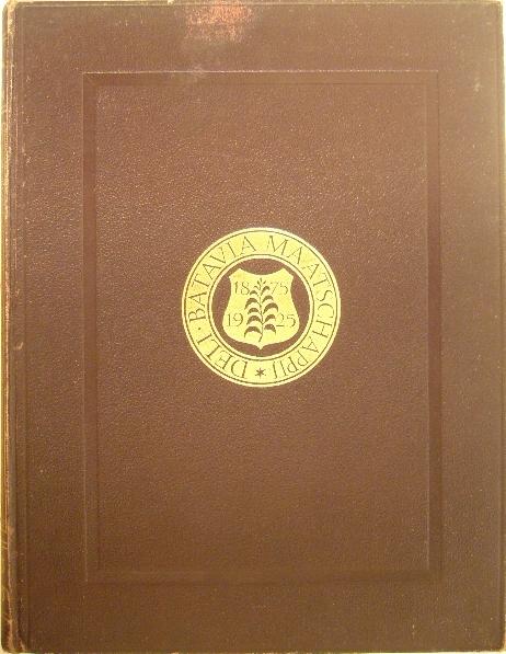 (MORESCO, MAURITS). - Deli Batavia Maatschappij 1875-1925.