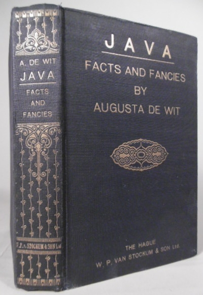 WIT, AUGUSTA DE. - Facts and fancies about Java.